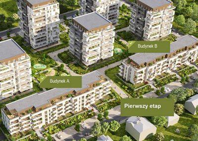 Osiedle mieszkaniowe Nasz Gaj – I etap realizacji