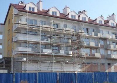 Budynek mieszkalno-usługowy wielorodzinny przy ul. Lwowskiej-Królowej Marysieńki w Rzeszowie