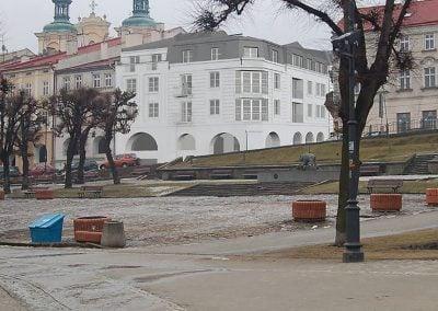 Budynek mieszkalno-usługowy z parkingiem podziemnym w Przemyślu przy ul. Fredry