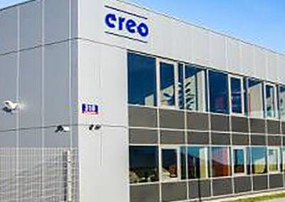 CREO – Hala produkcyjno-magazynowa z zapleczem administracyjno-socjalnym