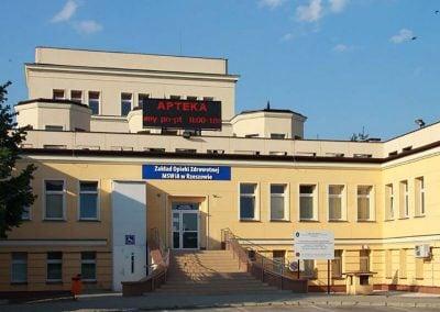 Zakład Opieki Zdrowotnej MSWiA Rzeszów, ul. Krakowska 16