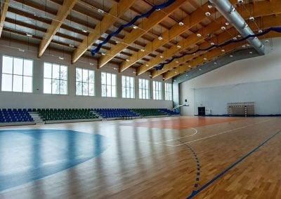 """Wschodnioeuropejskie Centrum Kongresowo-Sportowe """"Arłamów"""" – Hala sportowa, korty do tenisa, ujeżdżalnia koni"""